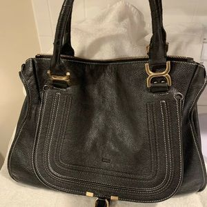 Chloe Marcie black bag